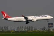 TC-JIH, Airbus A340-300, Turkish Airlines