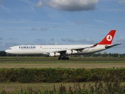 TC-JIK, Airbus A340-300, Turkish Airlines