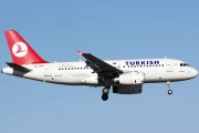 TC-JLN, Airbus A319-100, Turkish Airlines