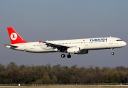 TC-JRA, Airbus A321-200, Turkish Airlines