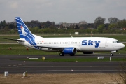TC-SKB, Boeing 737-400, Sky Airlines