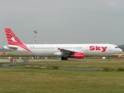 TC-SKI, Airbus A321-100, Sky Airlines
