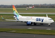 TC-SKS, Boeing 737-800, Sky Airlines
