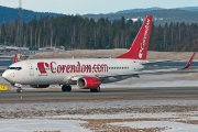 TC-TJK, Boeing 737-800, Corendon Airlines