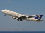 TF-AAE, Boeing 747-400, Saudi Arabian Airlines