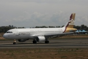 TS-IND, Airbus A320-200, Libyan Airlines
