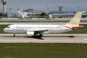 TS-INP, Airbus A320-200, Libyan Airlines