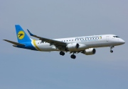 UR-DSA, Embraer ERJ 190-100STD (Embraer 190), Ukraine International Airlines