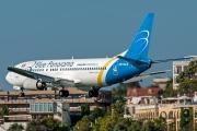 UR-GAX, Boeing 737-400, Blue Panorama