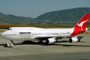 VH-OEF, Boeing 747-400ER, Qantas