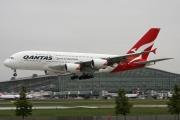 VH-OQE, Airbus A380-800, Qantas
