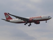 VT-VJO, Airbus A330-200, Kingfisher Airlines