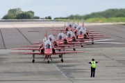 XX227, British Aerospace (Hawker Siddeley) Hawk T.1, Red Arrows
