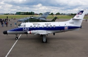 XX488, British Aerospace JetStream T.2, Royal Navy - Fleet Air Arm