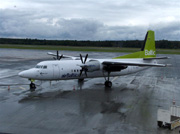 YL-BAT, Fokker 50, Air Baltic