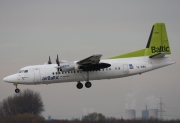 YL-BAU, Fokker 50, Air Baltic