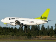 YL-BBD, Boeing 737-500, Air Baltic