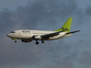 YL-BBH, Boeing 737-500, Air Baltic