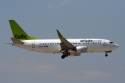 YL-BBX, Boeing 737-300, Air Baltic