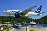 YR-ASA, Airbus A318-100, Tarom