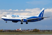 YR-BAJ, Boeing 737-400, Blue Air
