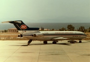 YU-AKG, Boeing 727-200Adv, Jat Airways