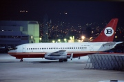 YU-ANU, Boeing 737-200Adv, Bouraq Indonesia Airlines