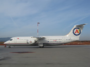 ZA-MEV, British Aerospace BAe 146-300, Albanian Airlines