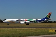 ZS-SXD, Airbus A340-300, South African Airways